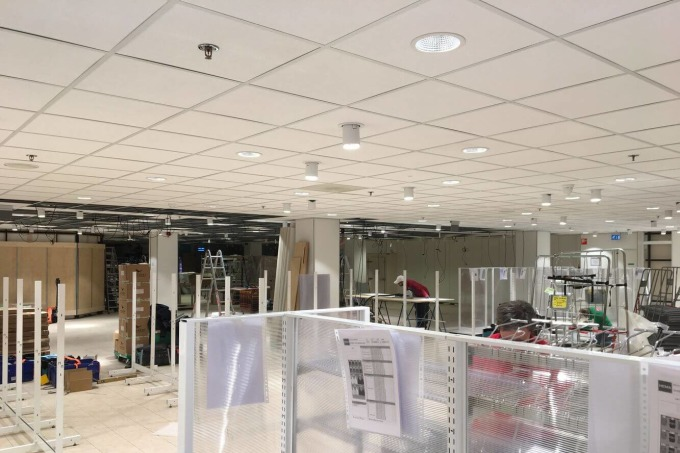 Make-over HEMA Spijkenisse in 5 dagen
