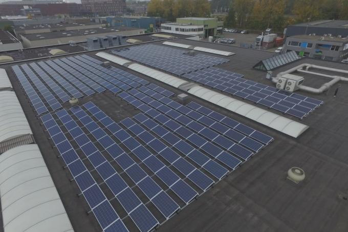 461 zonnepanelen voor Van Riemsdijk Rotterdam